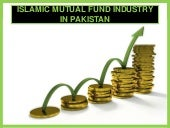 Islamic Mutual Fun Industry In Pakistan