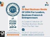 The 15 Most Influential Business Books Of 2014