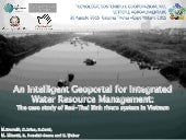 An Intelligent Geoportal for Integrated Water Resource Management: The case study of Red-Thai Binh rivers system