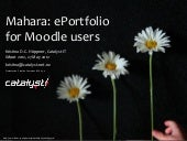 Mahara ePortfolio for Moodle users