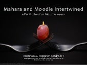 Mahara and Moodle intertwined