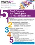 Top 5 Reason for Software Developers to Attend Impact 2011