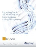 Impacting local seo rankings with local business listing management
