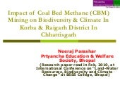 """IMPACT OF COAL BED METHANE MINING ..."