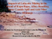 Impacts of Lafayette Mining In The ...