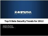 Top 9 Data Security Trends for 2012