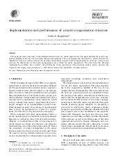 Implementation and performance of a...