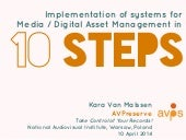 Implementation of systems fo