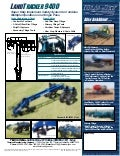 Implement caddy   land tracker 9400