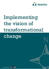 Implementing the vision of transfor...