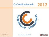 Impression of the Co-Creation Award...