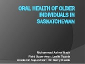 Improved oral health of older indiv...