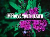 5 Ways to Improve Your Health