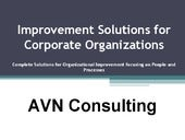 Improvement solutions for corporate...