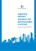 Improving business processes and delivering better e-services - A guide for municipalities from Smart Cities