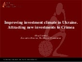 Improving investment climate in Ukr...