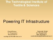 Improve Academic IT Infrastructure