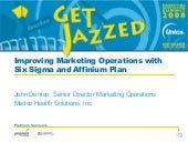 Improving marketing operations with...