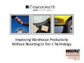 Improving Warehouse Productivity Wi...