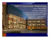 Imrt In Gynecologic Malignancies