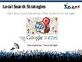 10 Local Search / Google Places Strategies