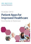 Ims report on m health october 2013