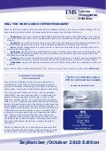 IMS newsletter Oct 2010