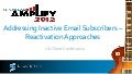 Inactive Email Subscriber Reactivation Silverpop UK