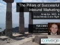 The Pillars of Successful Inbound Marketing