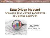 B2B Data-Driven Inbound Marketing
