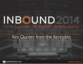 INBOUND14: Key Quotes from the Keynotes
