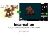 Incarnation - Turning Real World Objects into Perfume World