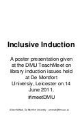 Inclusive induction