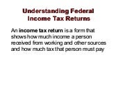 Income tax returns roberts