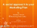 Incorporate Social Media in your Marketing Plan