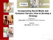 Incorporating Social Media and Cust...