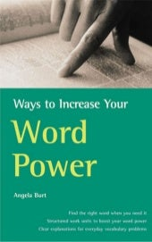 Increase your-word-power