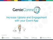 Increase Uptake and Engagement with your Event App