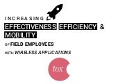Increasing effectiveness, efficienc...