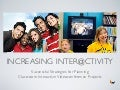 Increasing Interactivity - Planning Videoconference Collaborations