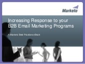 Increasing response to your B2B ema...