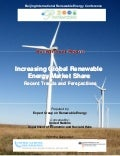 Incr global renewable energy mkt share   un report - beijing re-report