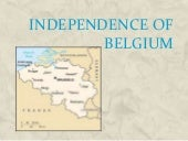Independence of belgium