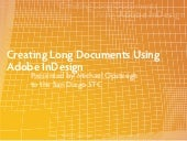 Creating Long Documents Using Adobe...