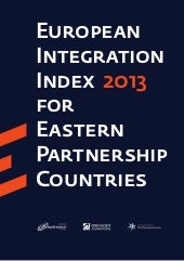 European Integration Index 2013 for...