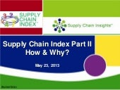 Supply Chain Insights Webinar on th...