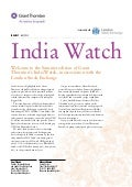 India Watch - Indian companies listed on the London Markets, Indian M&A activity and an analysis of the Indian economy