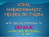 Viral Haemorrhagic Fevers with spec...