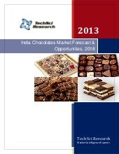 India chocolates market forecast  o...