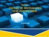 India decade of innovations 2010-20...